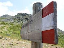 Way to Punta la Marmora - Gennargentu National Park Stock Photography