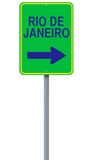 This Way to Rio de Janeiro Royalty Free Stock Images