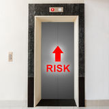 Way to risk, business conceptual Royalty Free Stock Photos