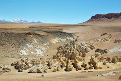 On the way to Salar de Tara, Chile Stock Photography