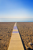 Way to the Sea Royalty Free Stock Images