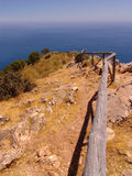 Way to the sea Stock Images