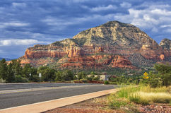 On the way to Sedona, Arizona, USA Royalty Free Stock Photo