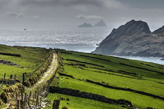 Way to the Skelligs Royalty Free Stock Photography