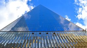 Way to the Sky. Manhattan Building, eternity to the sky stock photography