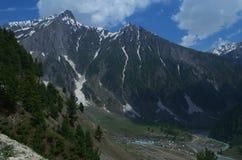 Way to Sonamarg landscape-4 Royalty Free Stock Images