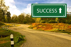 Way to Succcess Stock Photography