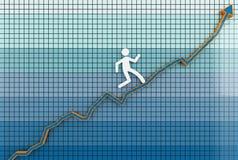 Way to success Stock Image