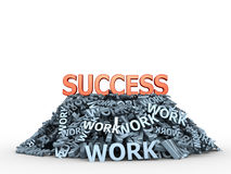 Way to success Royalty Free Stock Photography