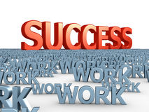 Way to success Stock Photo