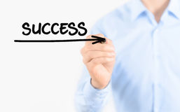 Way to success concept Royalty Free Stock Image