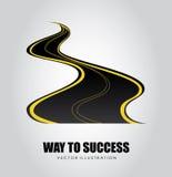 Way to success design Stock Images