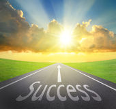Way to Success Royalty Free Stock Photo