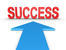 Way to success Royalty Free Stock Images