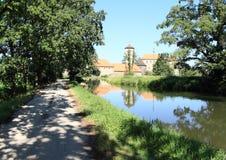 Way to Svihov castle Royalty Free Stock Photography