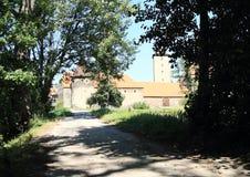 Way to Svihov castle Royalty Free Stock Photo