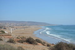 On the way to Taghazout stock photo