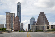 Way to Texas state capital Royalty Free Stock Image