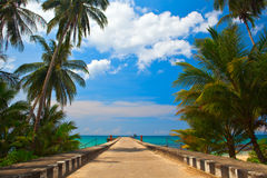 Way To The Sea Stock Photography