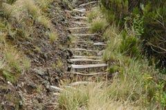 Way to the top of Muhavara Vulcano Stock Photography