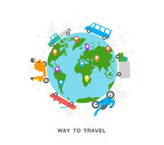 Way to travel Royalty Free Stock Photos