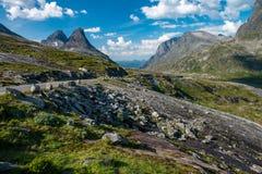 Way to Trollstigen (Stairway of the Troll) Royalty Free Stock Image