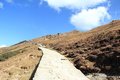 Way To Tuangnath. Royalty Free Stock Photography
