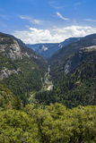 On the Way to Yosemite Stock Photo
