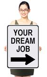 This Way To Your Dream Job Stock Photos
