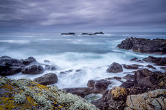 On the way to Zennor in cornwall uk England Stock Images