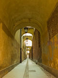 Way under the arches Royalty Free Stock Photography