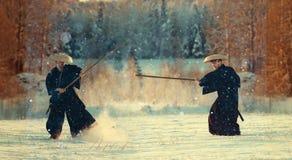 Way of the warrior samurai Stock Images
