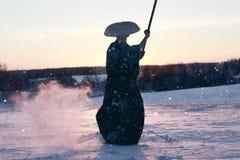 Way of the warrior samurai Royalty Free Stock Photo
