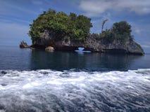 Wayag-Insel lizenzfreie stockfotos