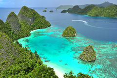 Wayag, Raja Ampat Lizenzfreies Stockfoto