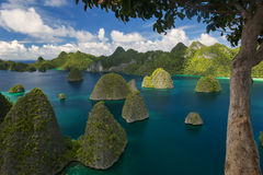 Wayag, Raja Ampat Stock Photos