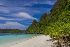 Wayag viewpoint,Raja ampat 02 Royalty Free Stock Photo