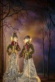 Wayang Golek Photo libre de droits