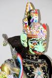 Wayang golek gatot kaca. Wodden puppet, wayang golek from java, gatot kaca Royalty Free Stock Photos