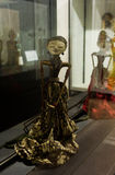 Wayang Golek o marioneta tradicional de Java del oeste Jakarta admitida foto Indonesia Foto de archivo