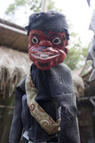Wayang golek wood puppet traditional culture of javanese indonesia. Wayang golek wood puppet traditional culture of sundanese javanese indonesia Stock Images