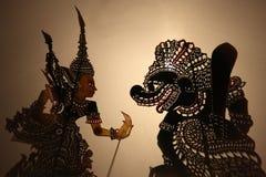 Wayang Kulit 01 Fotografia de Stock