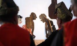 Wayang kulit obrazy royalty free