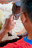 Wayang kult Marionette. Berühmte Schattenmarionette des Asiaten. Lizenzfreies Stockbild