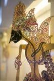 Wayang. Shadow puppet at  museum Jakarta Stock Photo