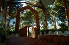 Wayfarers Chapel Royalty Free Stock Image