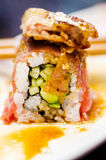 Waygu και foie maki gras Στοκ Εικόνες