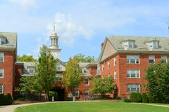 Wayland霍尔,布朗大学,上帝,美国 库存照片
