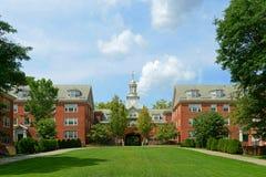 Wayland Hall, университет Брайна, Провиденс, США Стоковые Фото
