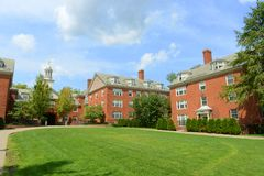 Wayland Hall, Brown University, providencia, los E.E.U.U. foto de archivo libre de regalías